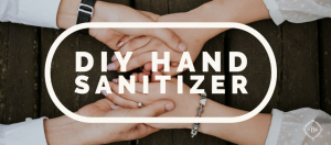 DIY hand sanitizer and cleaning wipes